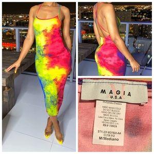 Magia Tie Dye Dress